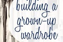 style - wardrobe building / by Heather Chambers