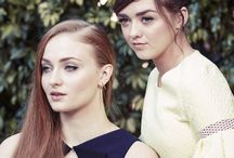 Maisie & Sophie / Maisie Williams & Sophie Turner (Game of Thrones)