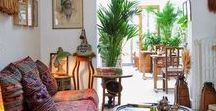 Styles // Bohemian / Ideas and inspirations for Bohemian style interiors.