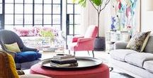 Styles // Contemporary Eclectic / Ideas and inspirations for Contemporary Eclectic interiors.