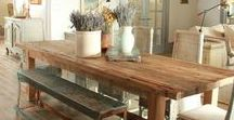 Styles // Rustic / Ideas and inspirations for Rustic interiors.