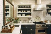 Rooms // Kitchen / Kitchen inspirations, all styles, all colors - just beautiful