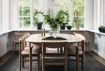 Rooms // Dining Rooms / Dining rooms inspirations, all styles, all colors - just beautiful