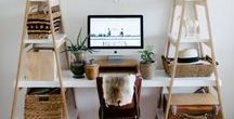 Rooms // Office / Home office inspirations, all styles, all colors - just beautiful