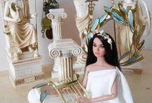 Handmade accessories for dolls (headbands, hats, bags, shoes, belts, etc. / handmade accessories for dolls, bags, shoes, headbands, belts, hats, etc.