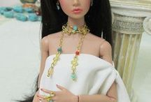 Handmade jewerly (earrings, rings, bracelets and necklaces) / Handmade doll jewerly for sale