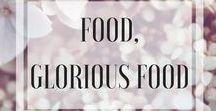 Food, Glorious Food / Food, cake, chocolate, brownies, cupcakes