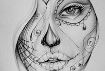 Zeichnungen / Zeichnungen (Bleistift/pencil)