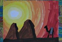 Art lessons / by Amanda Marie G.