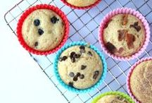 Muffins Muffins Everywhere / Muffins, mini muffins, and bread recipes. Great for a lunch box, snack time or breakfast.