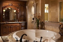 { Luxury Bathroom } / by Laura Yelton