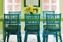 Blue & Green Colour Love
