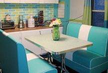 Banquette Love / Banquettes are a perfect way to add character to any room. I hope you find your perfect banquette on my board, whether you are building a new home or remodeling your new to you home. Have fun and be sure to follow me please………