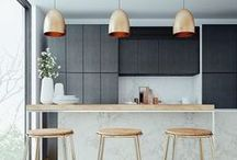 kitchen ideas / kitchen styles and material inspiration