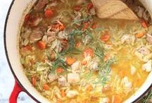 Savory Soups / Soups, stews, stocks and more.