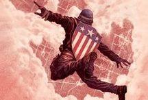 captain america & the avengers
