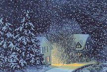 * Snow * Winter * / Uroda zimy