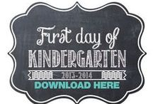 Kindergarten Kickoff / Get ready to start Kindergarten! Educational activities, back to school fashion, fun school supplies and checklist for parents.