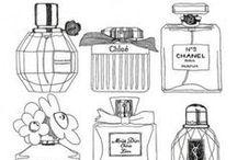 * Perfume Bottles *