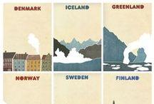 * Nordic Countries * / by Jolanta Helena