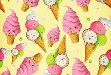 * Ice cream  *  :-) ohh :D