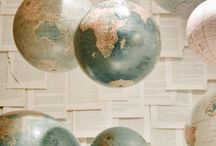 bolas del mundo / Globes world