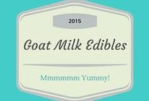 Goat Milk Edibles / Goat Milk Entrées, Desserts, Bon Bon's and more.