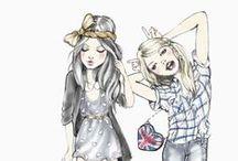Drawing, illustrations & art