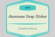 Awesome Soap Dishes! / All kinds of unique and fancy soap dishes to hold your beautiful handcrafted soaps.