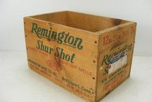 Hubby's Antique Shell Boxes Love
