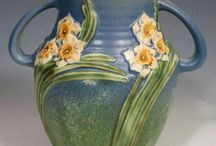 Roseville Pottery Love / I have several pieces of this Roseville Pottery...