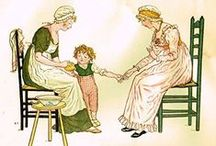 Kate Greenaway / Kate Greenaway (1846 – 1901) was an English children's book illustrator and writer. She was immensely popular throughout the 1880s and 1890s and is still well-known and beloved today.