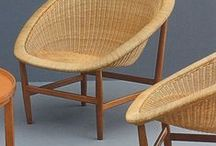 Furniture / DITZEL Danish designer ~ MAGNUSSON-GROSSMAN  Swedish designer & architect ~ PERRIAND  French architect and designer ~ GRAY Irish architect & furniture designer ~ CRESPI  Italian designer ~ EAMES half of a design duo ~ PERGAY French designer ~ JALK  Danish furniture designer PORSET Cuban-born interior designer.