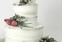 Backen & Torten - Wedding cake & bakery / DIY Hochzeitstorte, Vintage Wedding, Wedding cake, Vintage, Naked Torte, Hochzeitstorte mit Blumen, Flowers, Bakery, 3-stöckige Torten, Selberbacken, Backen, Torten