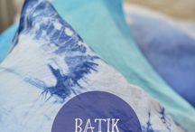 Stoff & Batik, Shibori / Stoff färben, Kissen, Gardinen, Ombre, Watercolour, DIY, doityourself, einfärben, Batik, Bettwäsche, Shibori