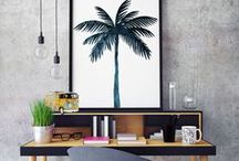 Everything Palm Leaf / Jungle, palm, palm leaf pattern, tropical vibes, palm party