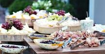 Outdoor Catering / Inspiration for Catering Displays and Buffets