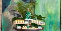 Palm Leaf Party Ideas / Ideas & inspiration for a tropical palm leaf weddings & parties