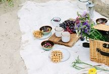 Picnic / We are very serious about our picnics. That's our thing. Here you'll find all picnic decor ideas, recipes, and picnic friendly products.