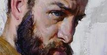 férfi portré