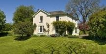 SOLD! Detached House for sale Kennerleigh, Crediton EX17 4RS / Property for sale in Devon.  Kennerleigh, Crediton EX17 4RS.  An elegant, early Victorian, former rectory on the edge of a quiet, small, mid Devon village.  Offers In Excess Of £800,000.