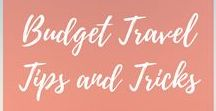 Budget Travel Tips and Tricks / Traveling can be so expensive! Let's share our budget travel tips and tricks. All budget travel related pins welcome. To join board follow me The Eclectic Voyager and email me at theeclecticvoyager@gmail.com.