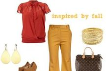 Fall Fashion Finds / my favorite season for fashion! I ♥ the colors, fabrics and of course fall boots!