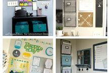 Everything In Its Place / Organization for home, office, craft space, family