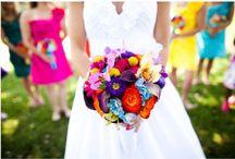 Bright Bride / {Multi-colour/Bright Wedding Colour Palette}