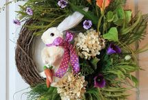 Easter/Spring Time / Spring Decorations and Spring holidays: Valentines Day, Mardi Gras, St. Patrick's Day and Easter / by Nati