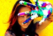Better in Color / The colors of the rainbow bring endless energy and fun in these photos.