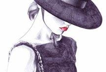 Fashion Illustration / Illustration, 3D, Art, Painting, Fashion / by TV Fashion Guide
