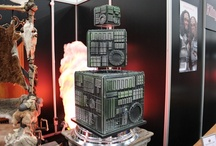 Star Trek Borg Cube Wedding Cake / I created the Star Trek Borg Cube Wedding Cake for the UK's very first Klingon Wedding Ceremony, held at Destination Star Trek on Friday 19th October 2012.   It was a massive project!