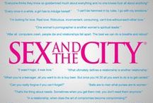 SATC / Because I can relate everything to an episode of Sex and the City ♥